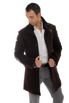 Free Handsome Guy Wearing A Nice Coat Royalty Free Stock Photo - 22001735