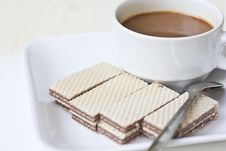 Free Crispy Wafers Royalty Free Stock Image - 22002386