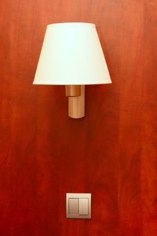 Free Lamp And The Switch On Stock Photography - 22002812