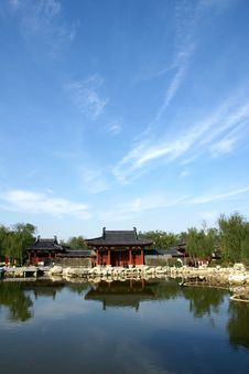 Free Huaqing Pool Park Royalty Free Stock Photography - 22004447