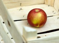 Free Successful Sale Of Fruit - Apple In Crate Stock Photo - 22004690