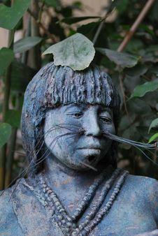 Free Maja Sculpture Of A Woman Stock Image - 22005691