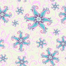 Free Abstract Seamless Pattern Royalty Free Stock Images - 22006059
