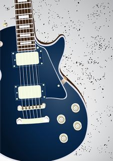 Free Electric Guitar Royalty Free Stock Images - 22007199
