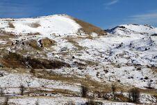 Free Snow Munzur Vale, Tunceli. Stock Images - 22007364
