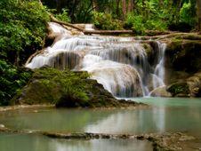 Erawan Waterfall Royalty Free Stock Photos