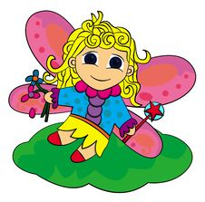 Free Toon Fairy Stock Photo - 22008750