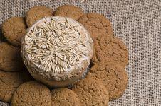 Free Oatmeal Cookies Stock Photo - 22010180