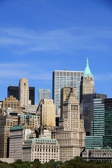 Free Lower Manhattan Royalty Free Stock Photo - 22011425