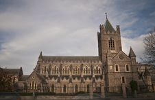Christ Church Cathedral Royalty Free Stock Photo