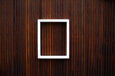 Free White Wooden Frame Royalty Free Stock Photos - 22017008