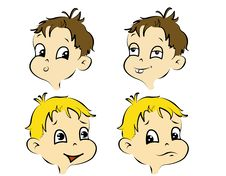 Free Comic Children Stock Image - 22017161
