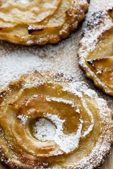Tiny Apple Pies Royalty Free Stock Image