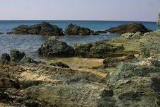 Free Beautiful Landscape With Rocks Stock Photo - 22019030