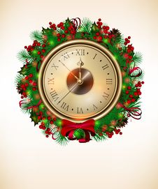 Free Christmas Background Royalty Free Stock Photography - 22020347