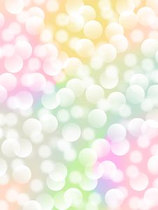 Free Colorful Bokeh Image For The Background. Royalty Free Stock Photos - 22023058