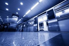 Free Subway. Underground Train Stock Photography - 22023782