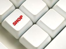 Free The Button For Purchases On The Keyboard Royalty Free Stock Photography - 22024887