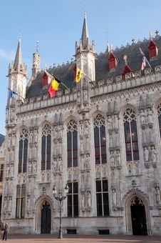 Free Town Hall At Brugge - Belgium Stock Photo - 22027030
