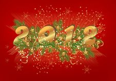 Free New Year Background, Cdr Vector Stock Image - 22028381