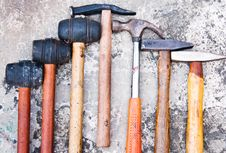 Free Hand Tools. Stock Image - 22031231