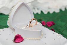 Free Wedding Rings Royalty Free Stock Photos - 22032708
