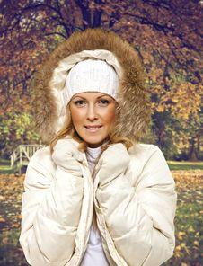 Free Autumn Women Stock Photo - 22034840