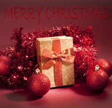 Free Christmas Composition Royalty Free Stock Photo - 22036395