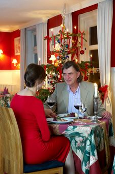 Free Christmas Dinner Stock Images - 22038504