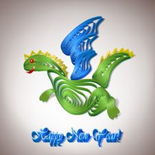 Free Paper Dragon-simbol Stock Photography - 22038512