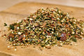 Free Dry Red Pepper Flakes Royalty Free Stock Photos - 22041308
