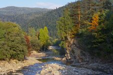 Free River In  Mountain Forests Royalty Free Stock Image - 22041446