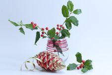 Christmas Is Coming Composition. Royalty Free Stock Photography