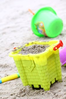 Sand Beach Toy Royalty Free Stock Image