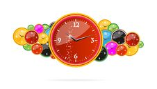 Free Creative Chronometer Time Sign On The Clocks Royalty Free Stock Image - 22045546