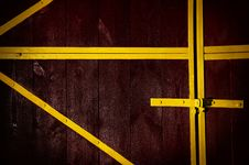 Free Wooden Gate Stock Image - 22048001