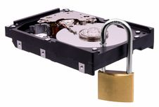 Free Secure Hard Disk Royalty Free Stock Photography - 22049227