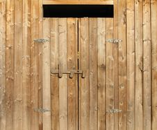 Free Wooden Doors Royalty Free Stock Photography - 22049787