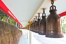 Free Temple Bell Stock Image - 22051071