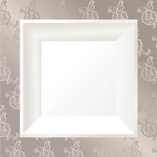 Free White Photo Frame Royalty Free Stock Photo - 22051205