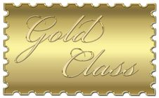 Gold Class Stamp