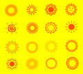 Free Illustrations Of The Sun Royalty Free Stock Images - 22063329