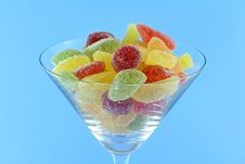 Free Colorful Fruity Chewy Sweet And Sour Candy Royalty Free Stock Photos - 22060528
