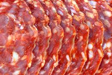 Free Fresh Spicy Spanish Chorizo (sausage) - Salami / Stock Images - 22062504