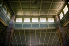 Free Interior Ceiling Of Pavilion At Rockcliffe Park Stock Photos - 22063083