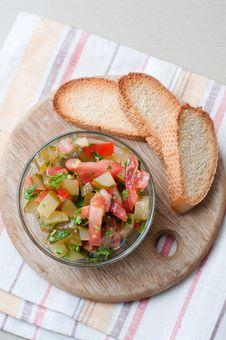 Free Bowl Of Salad Royalty Free Stock Photo - 22064525