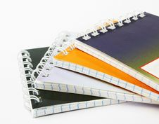 Free Stack Of Ring Binder Book Royalty Free Stock Photo - 22064755