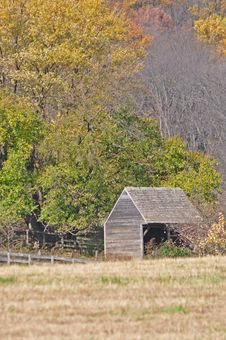 Free Late Fall Shed Stock Photography - 22067082