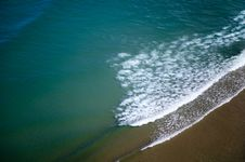 Beautiful  Ocean And Water Waves Stock Image