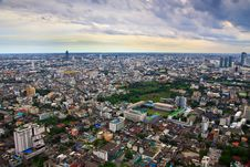 Free Top View Of Bangkok Of Thailand Stock Images - 22067814